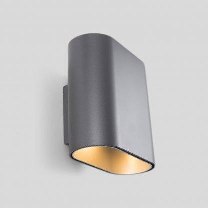 Duell Væglampe Grå Modular